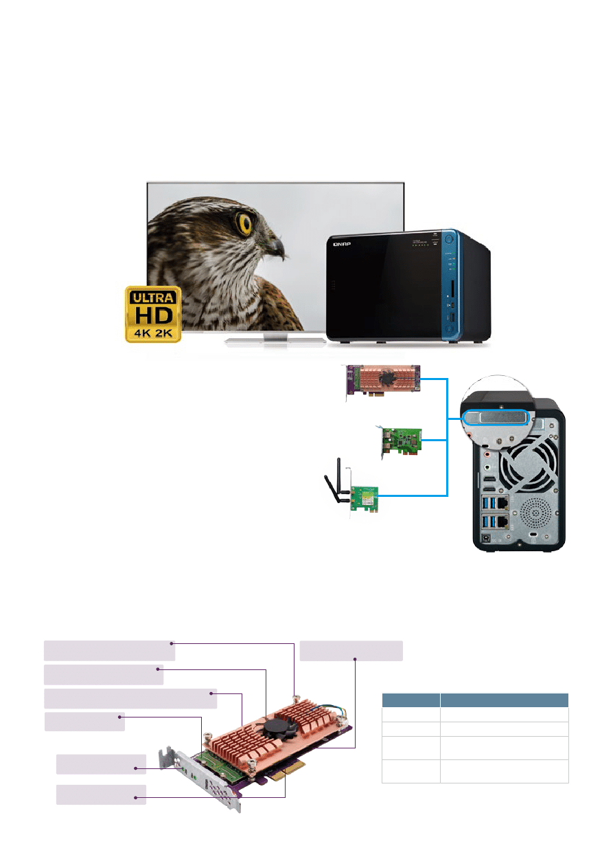 Gebrauchsinformation / Datenblatt zu QNAP Turbo Station TS