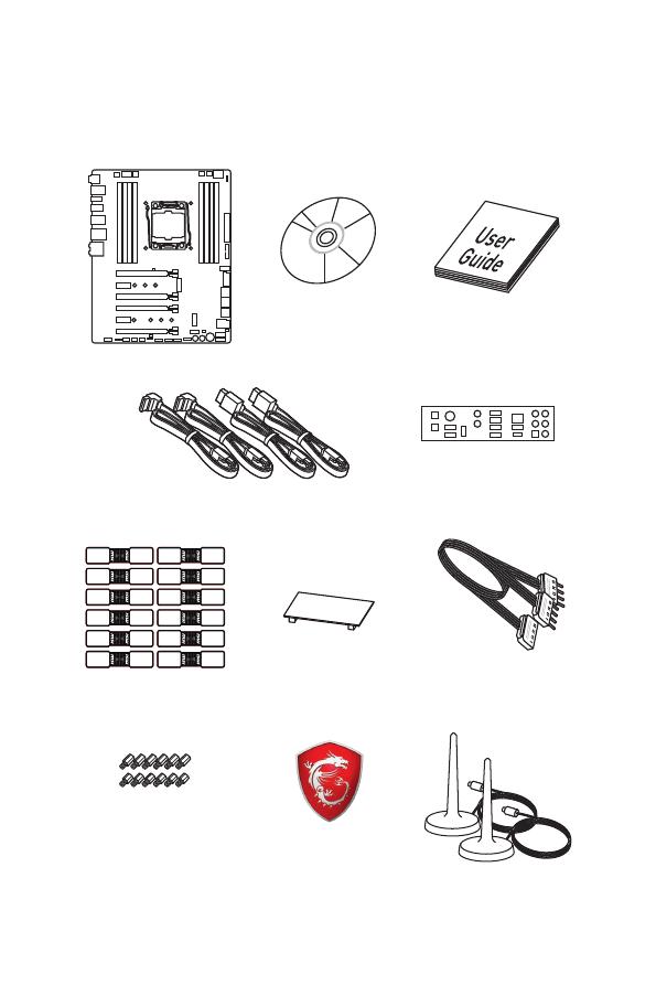 Gebrauchsinformation / Datenblatt zu MSI X299 Gaming M7 ACK