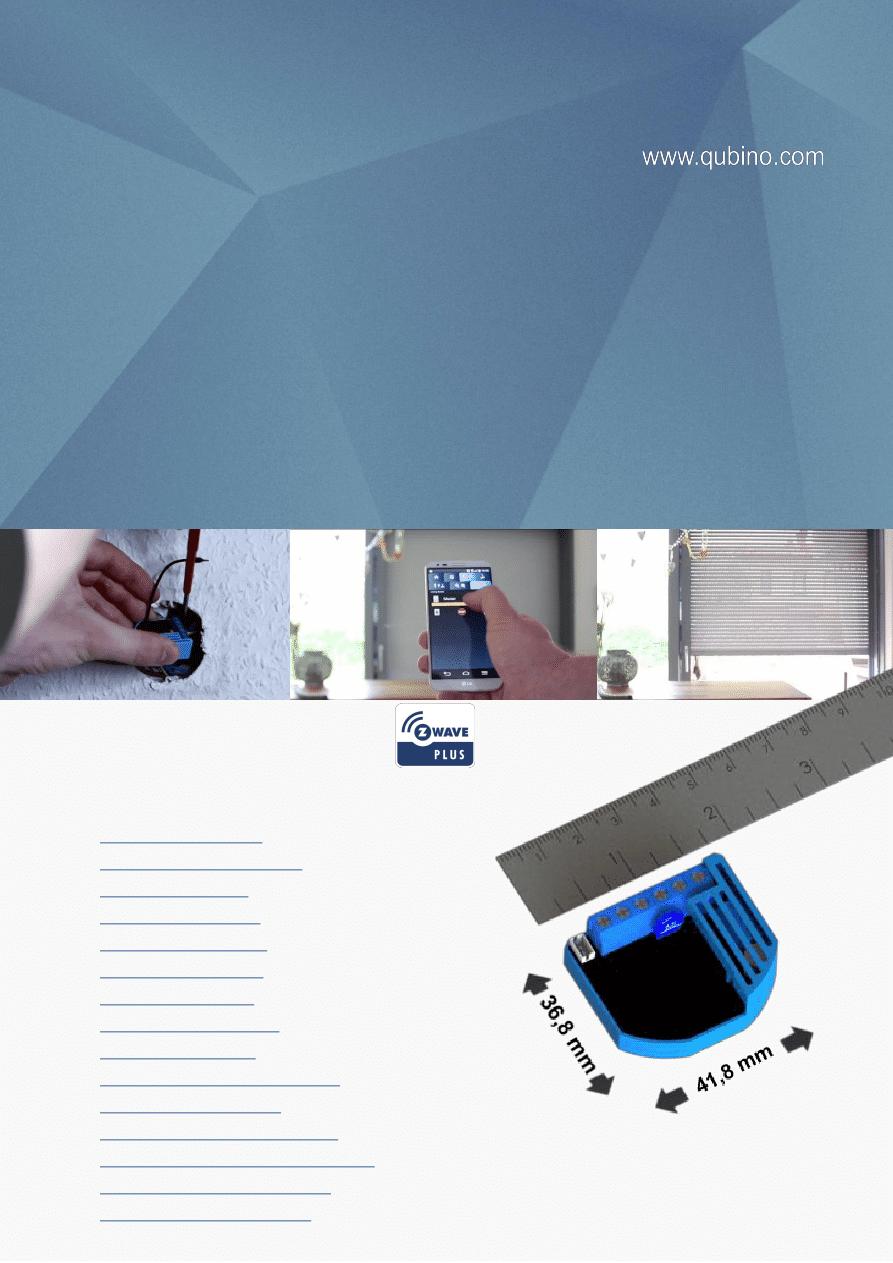 Gebrauchsinformation / Datenblatt zu Qubino Flush Dimmer 0-10V ...