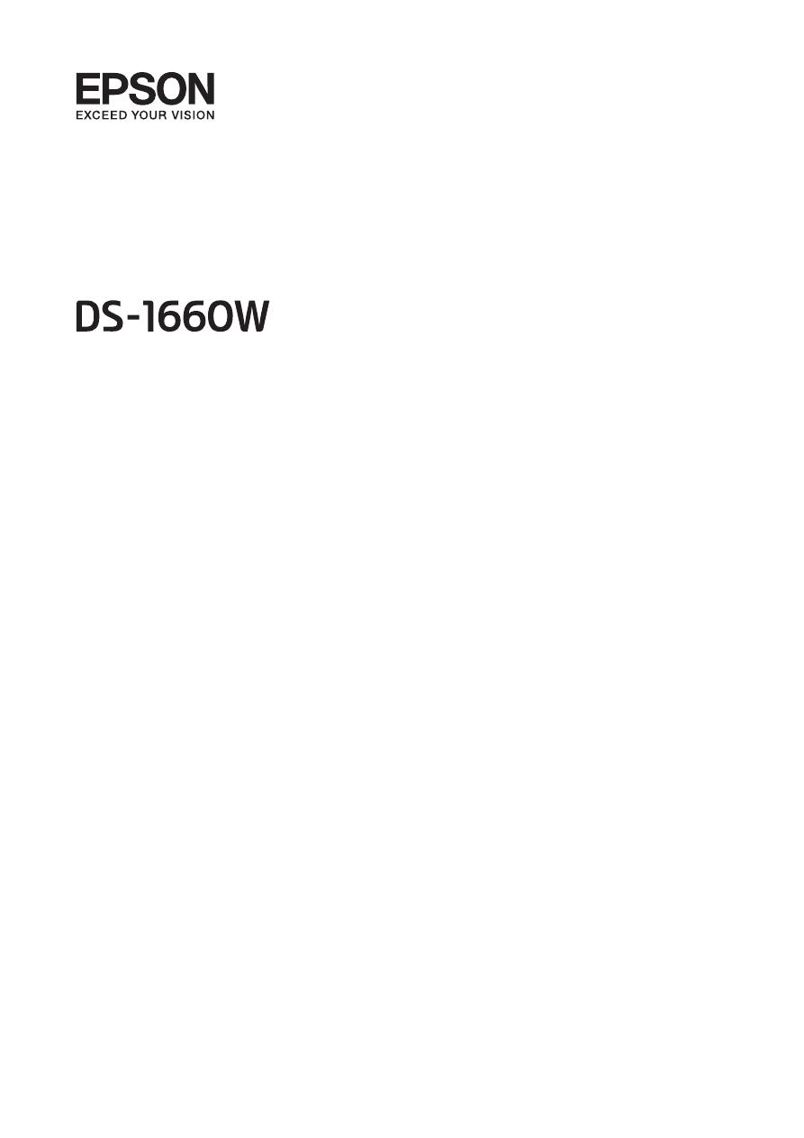 Gebrauchsinformation / Datenblatt zu Epson WorkForce DS-1660W