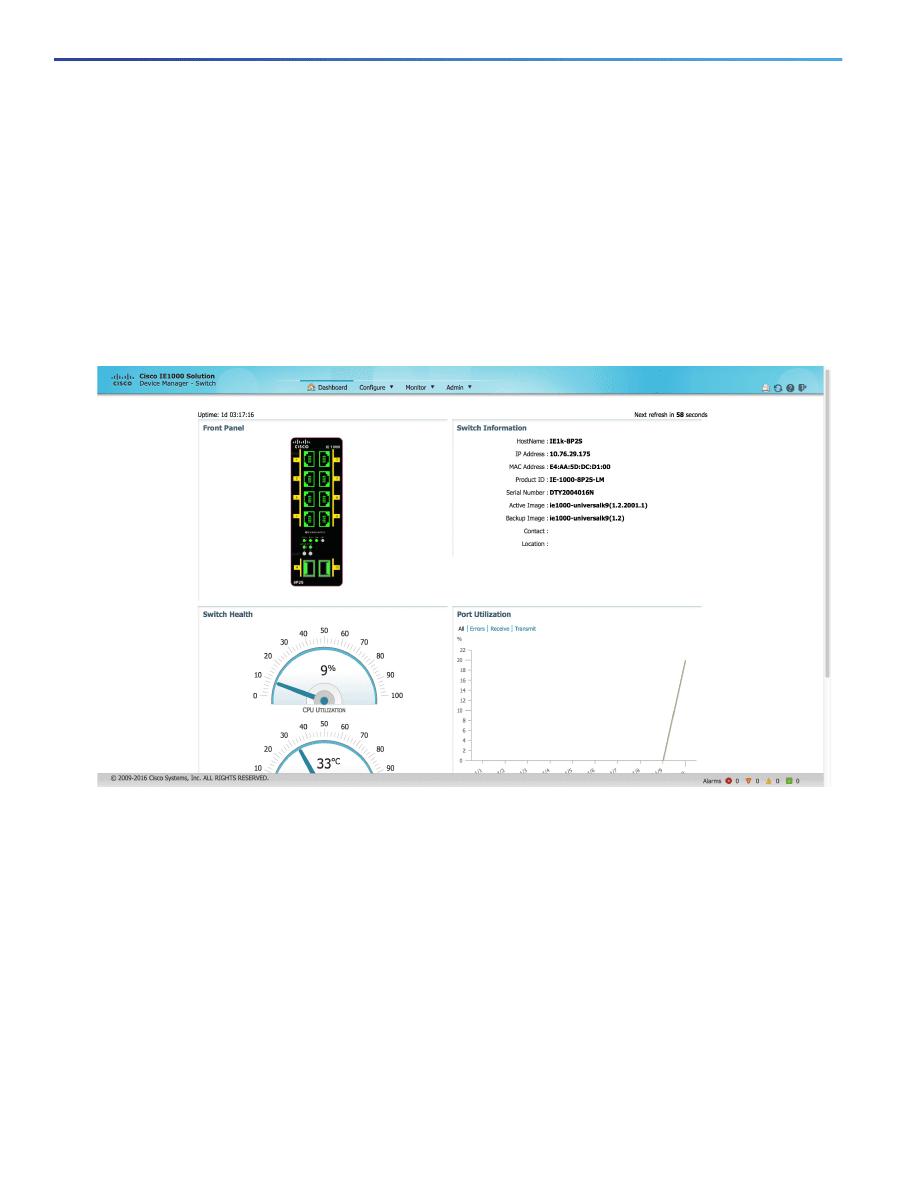 Gebrauchsinformation / Datenblatt zu Cisco IE 1000-4T1T-LM