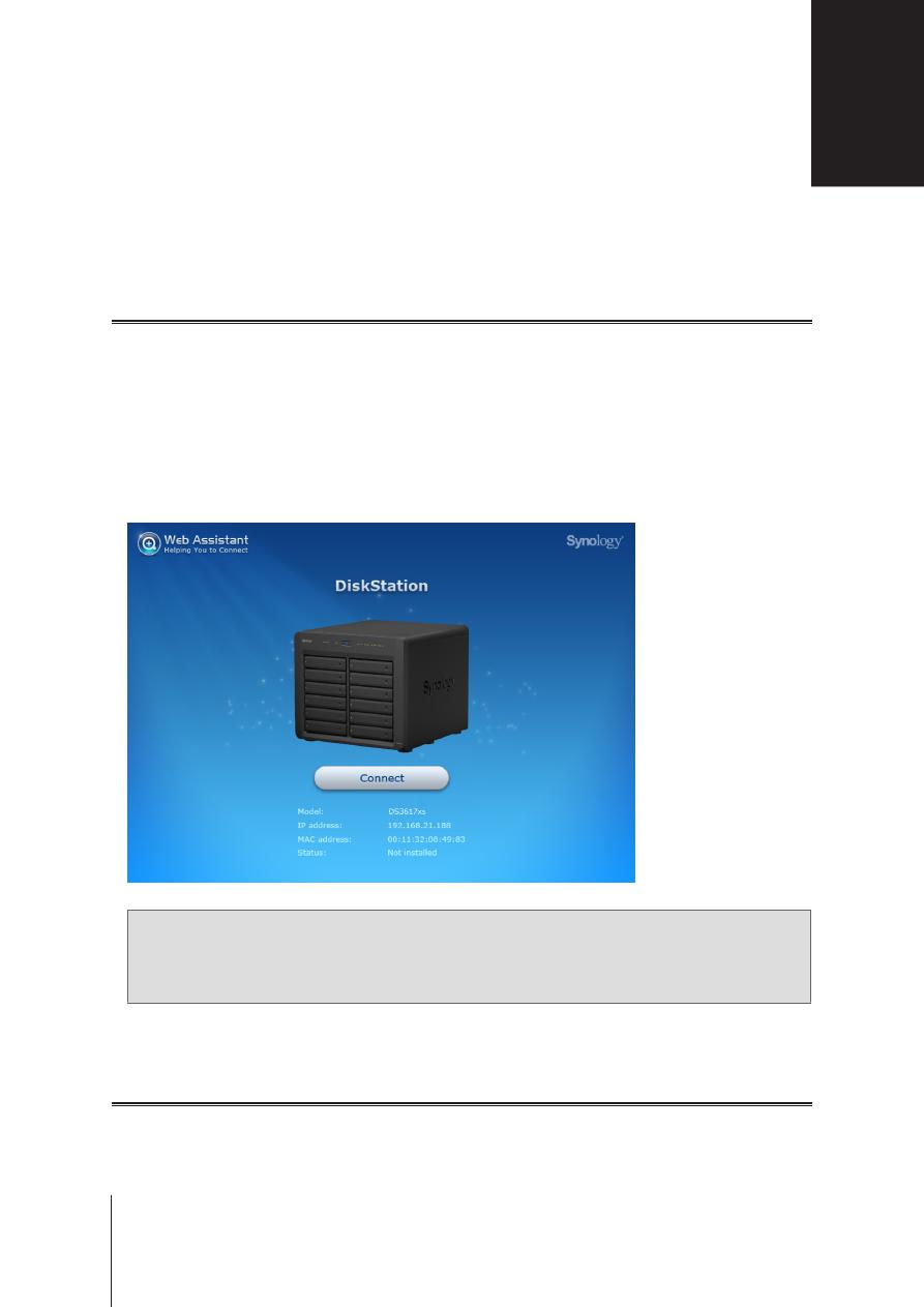 Gebrauchsinformation / Datenblatt zu Synology DiskStation