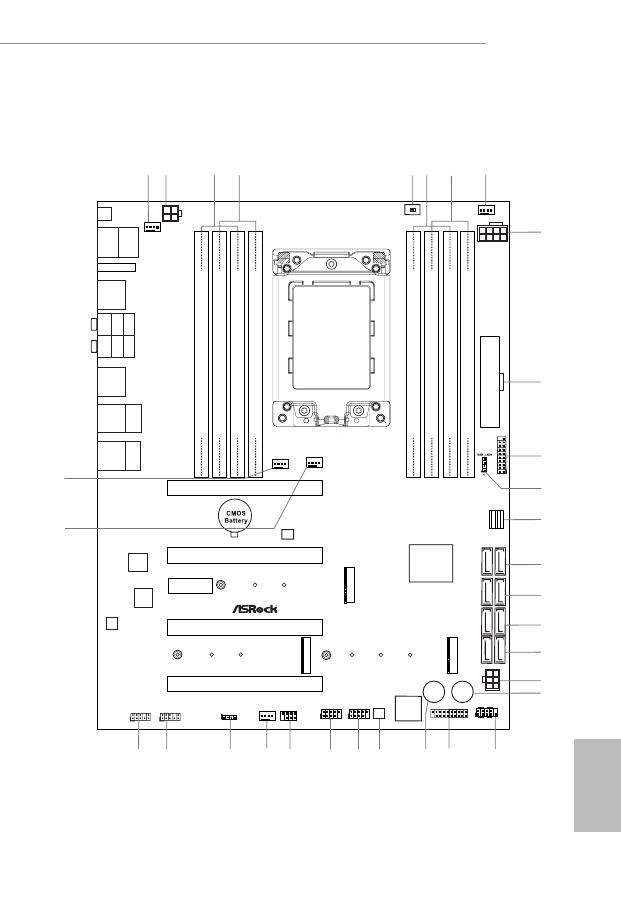 Gebrauchsinformation / Datenblatt zu ASRock X399 Taichi