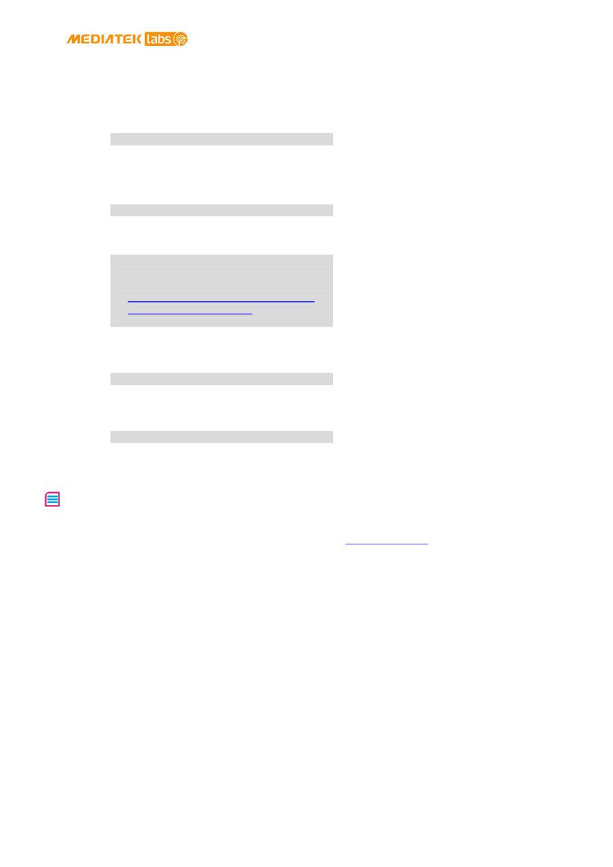 Gebrauchsinformation / Datenblatt zu LinkIt Smart 7688 Duo