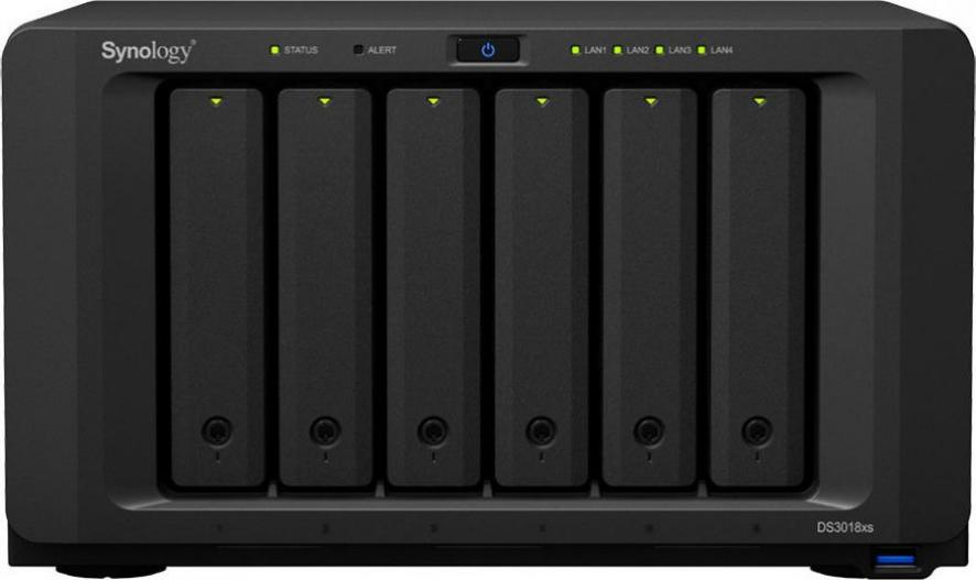 Synology DS3018xs 5x1TB
