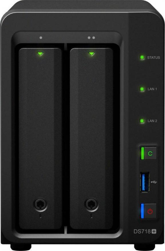 Synology DS718+(2G) 1x10TB